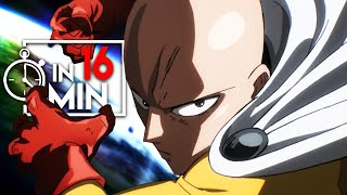 ONE PUNCH MAN 'STAFFEL 1' IN 16 MINUTEN