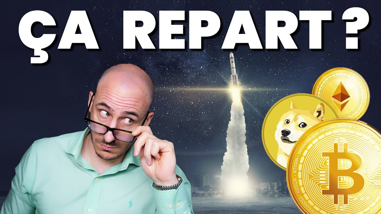 Update cryptos : Bitcoin et les Alts repartent tou ze moune ? Analyse BTC, ETH, Grayscale, Glassnode