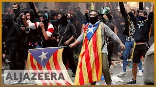 Catalonia protests: Separatists urge talks with Madrid