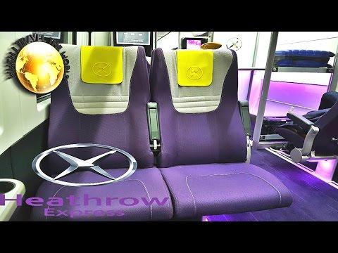Heathrow Express Paddington to Heathrow Airport
