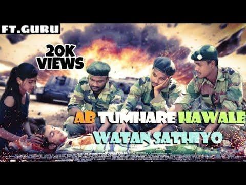 Ab Tumhare Hawale Watan Sathiyo || Alka Yagnik ||Sonu nigam ||BY RADHE CREATION