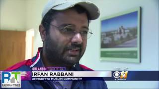 CBS 11: Ahmadiyya Muslims in Texas hold prayer vigil for OrlandoShooting Victims