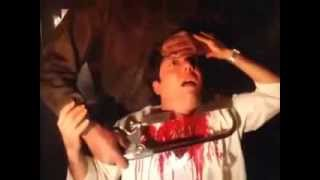 "Friday the 13th part 4 ""The Final Chater""  Slashed Gore Scenes"