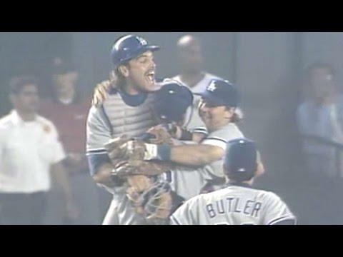 Dodgers clinch 1995 NL West division crown