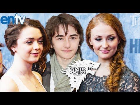Game of Thrones Stark Children Real Life Best Friends – ENTV