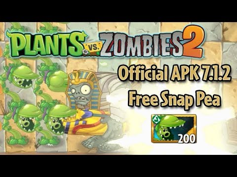 Plants Vs. Zombies 2: New Update 7.1.2 APK Download + Free Snap Pea