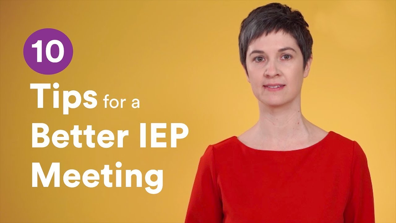 Are You Ready For Your Iep Meeting >> 10 Tips For A Better Iep Meeting Youtube