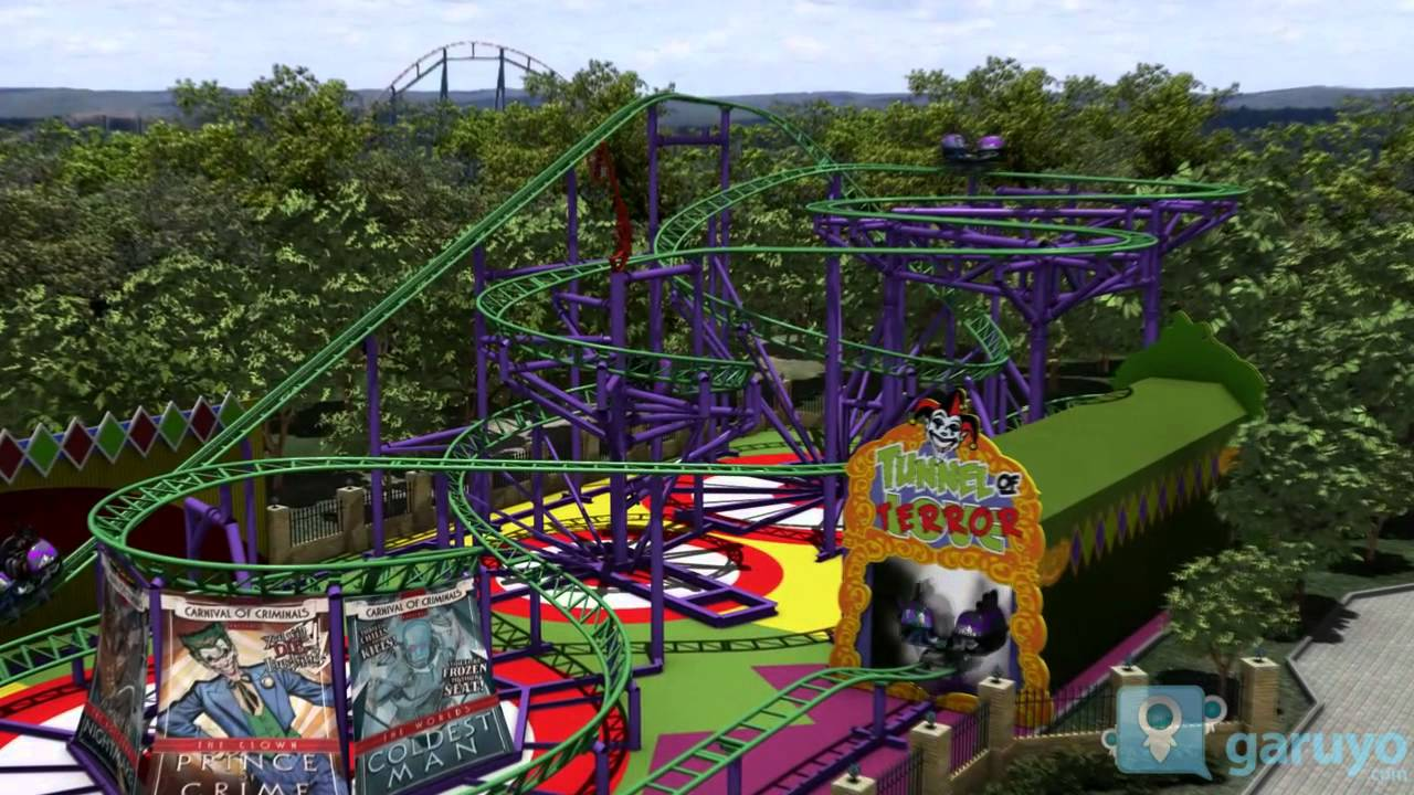 Six Flags Mexico The Joker Nuevo Juego Youtube