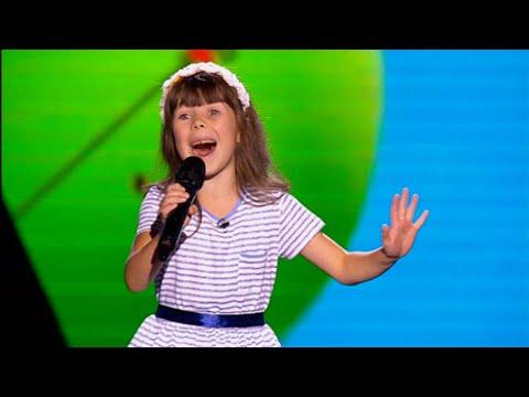 Анна Комякова 'Smile' - Голос. Дети - Выбор вслепую - Сезон 2