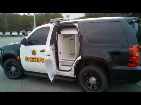 2013 Chevy Tahoe K-9 Police Vehicle Installation w/ Hot ...