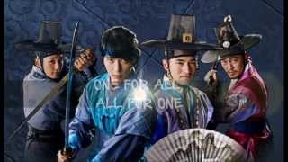 NOXX (feat. DinDin) - All for One [The Three Musketeers OST] (Lyrics-Eng.Trans.)
