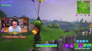 Thegrefg dies from a balloon bug in fortnite!