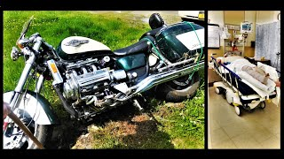 Motorcycle Down (Curt hit a deer not clickbait)
