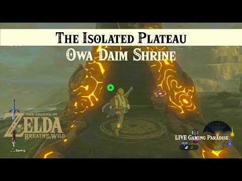 Breath of the Wild | The Isolated Plateau | Owa Daim Shrine Intro