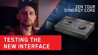 Zen Tour Synergy Core - Features and Workflow with Producer Danny Trachtenberg