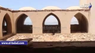 بالفيديو والصور.. قصر'السادات'على ضفاف بحيرة ناصر بأسوان لم يسكنه الرئيس الراحل وسرقه اللصوص