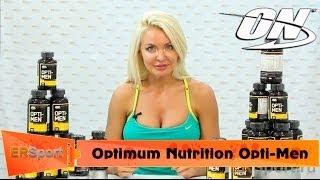 """Optimum Nutrition Opti-Men Спортивное питание """"Витамины и Минералы"""" (ERSport.ru)"""