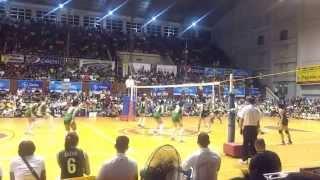 141028 unigames volleyball finals w dlsu nu set 2 4