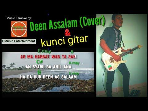 Deen Assalam & Kunci Nya (Cover Guitar Maz.Bass)