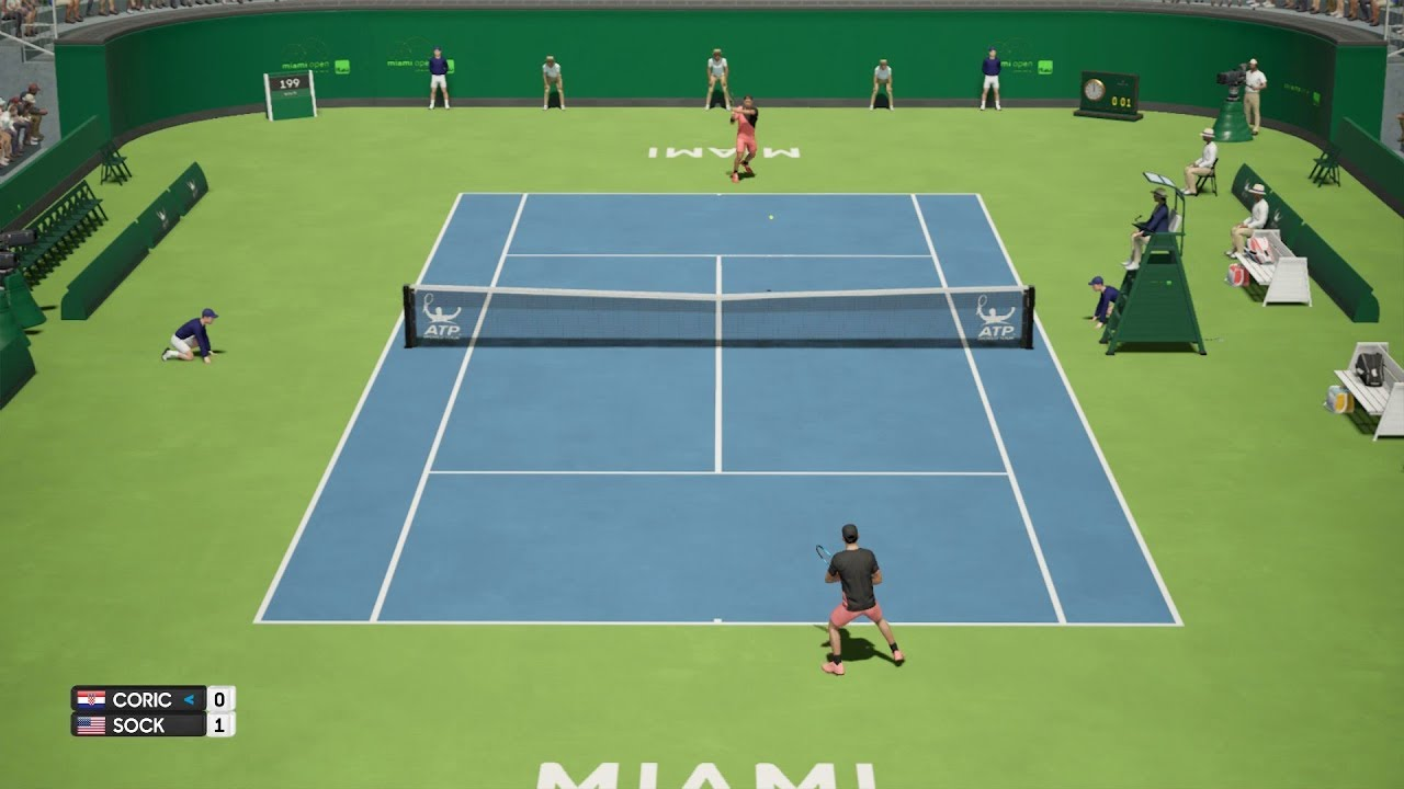 Anderson Brushes Past Herbert At Wimbledon