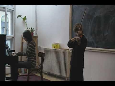 RUSU CRISTIAN vioara-recital -Weber-Dans taranesc ...