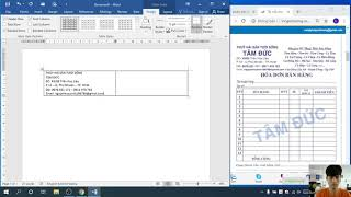 Guide to create professional Sales Invoices in Word