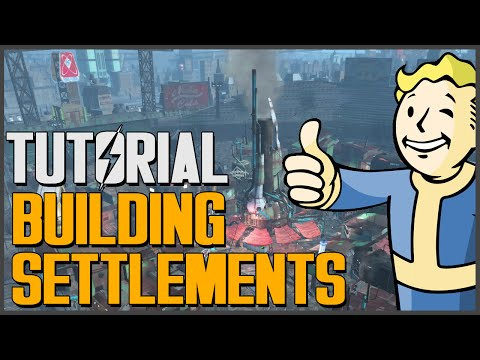Fallout 4: How to Build Settlements [The Basics] Super Easy Tutorial Guide