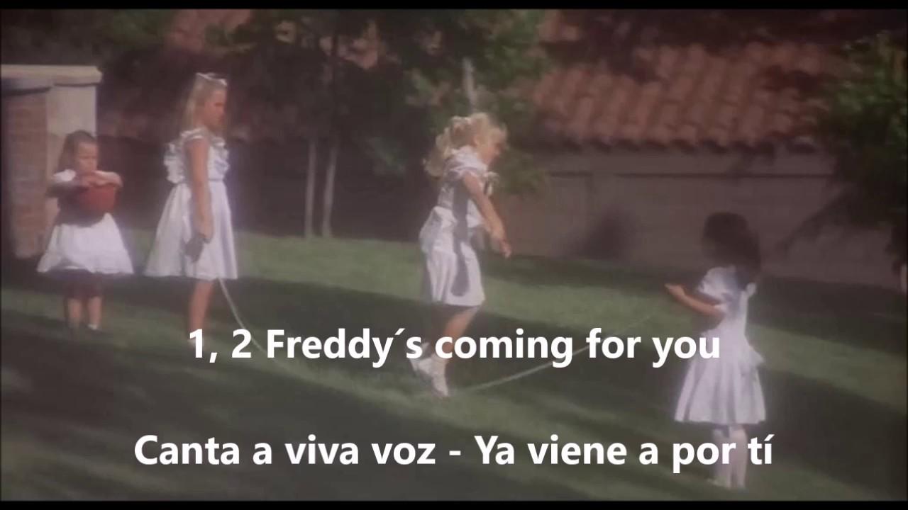 Canción Niñas Pesadilla En Elm Street Subtitulada Inglés Castellano Y Latino Youtube