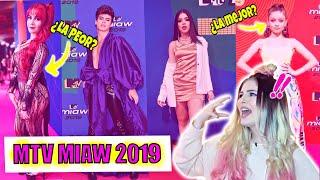 KENIA OS le ROB el VESTUARIO a KIMBERLY LOAIZA PREMIOS MTV MIAW 2019