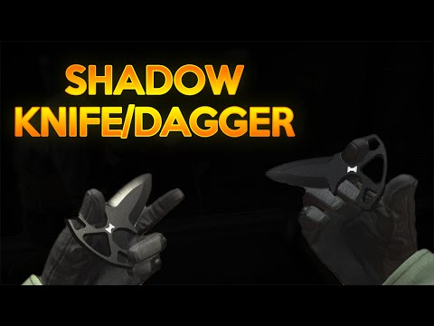 The New Shadow Knife/Dagger Inspect & Animations!