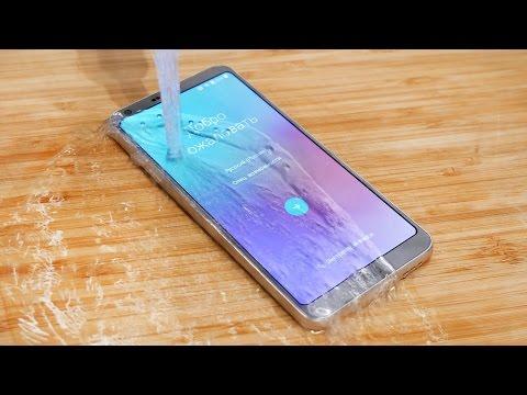 Распаковка и первое впечатление от LG G6