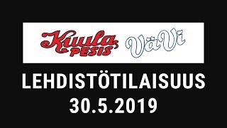 Lehdistötilaisuus: Kuula - Vähäkyrön Viesti 30.5.2019