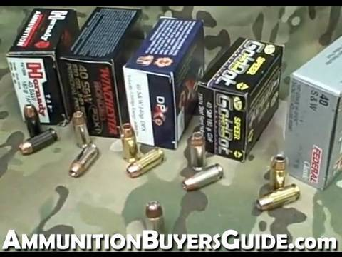 What Ammo to Use?.40 s&w Hollow Point Options