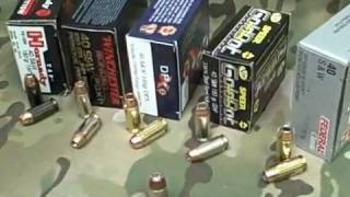 What Ammo to Use? .40 s&w Hollow Point Options