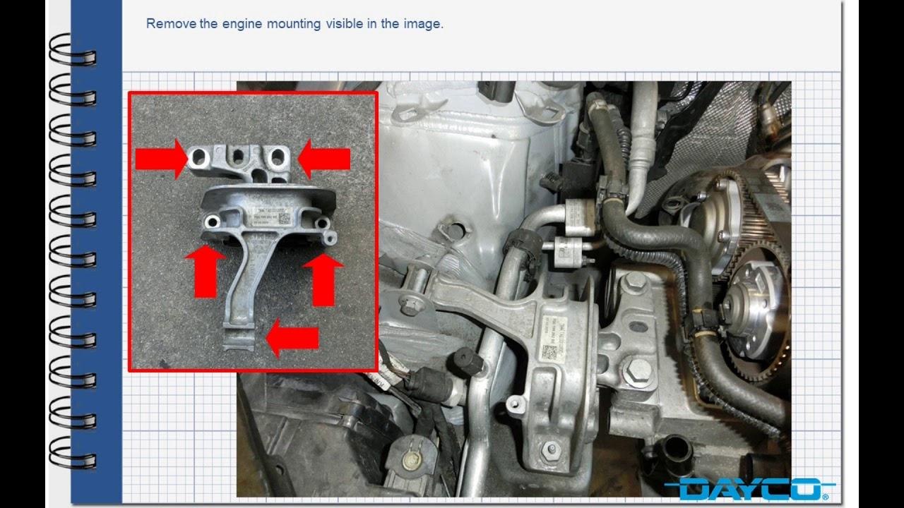 Timing kit installation VW Golf VII 14 TSI  EN  YouTube