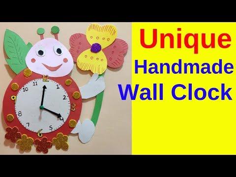 Handmade wall clock by tcc
