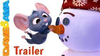 🍊 On Christmas Day - Trailer | Christmas Songs for Kids | Christmas Carols from Dave and Ava 🎄