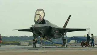F-35 Lightning II, F135 Engine - Hover Pit Test