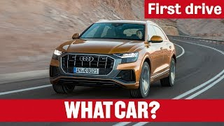 2018 Audi Q8 First Drive – all-new stylish SUV takes aim at BMW X6 | What Car? thumbnail