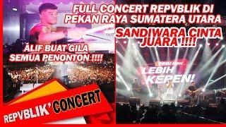 Full Konser Repvblik  Pekan Raya Sumatera Utara