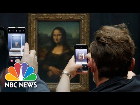 Mona Lisa Has Something To Smile About As Louvre Reopens | NBC News NOW