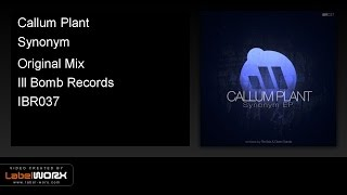 Callum Plant - Synonym (Original Mix)