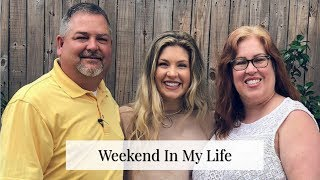 Weekend In My Life | Cleaning, Food, and Football