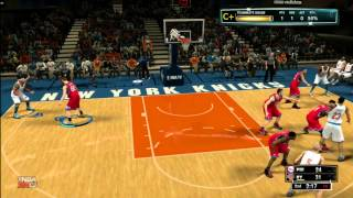NBA 2K13 My Career Mode Center Game 1
