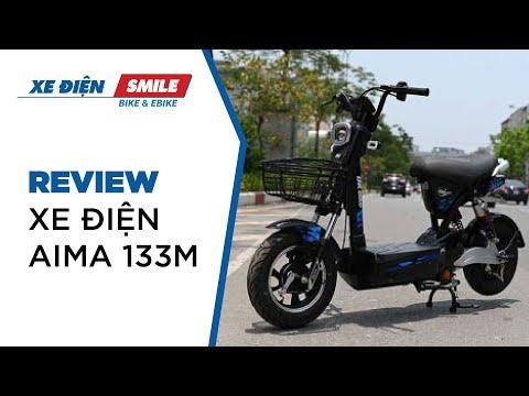 [Review]AIMA 133M - Lựa chọn xe điện số một cho học sinh hè 2020 | Xe Điện Smile
