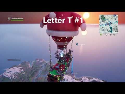 ALL Fortnite Letters Location Guide - Hidden In Loading Screens