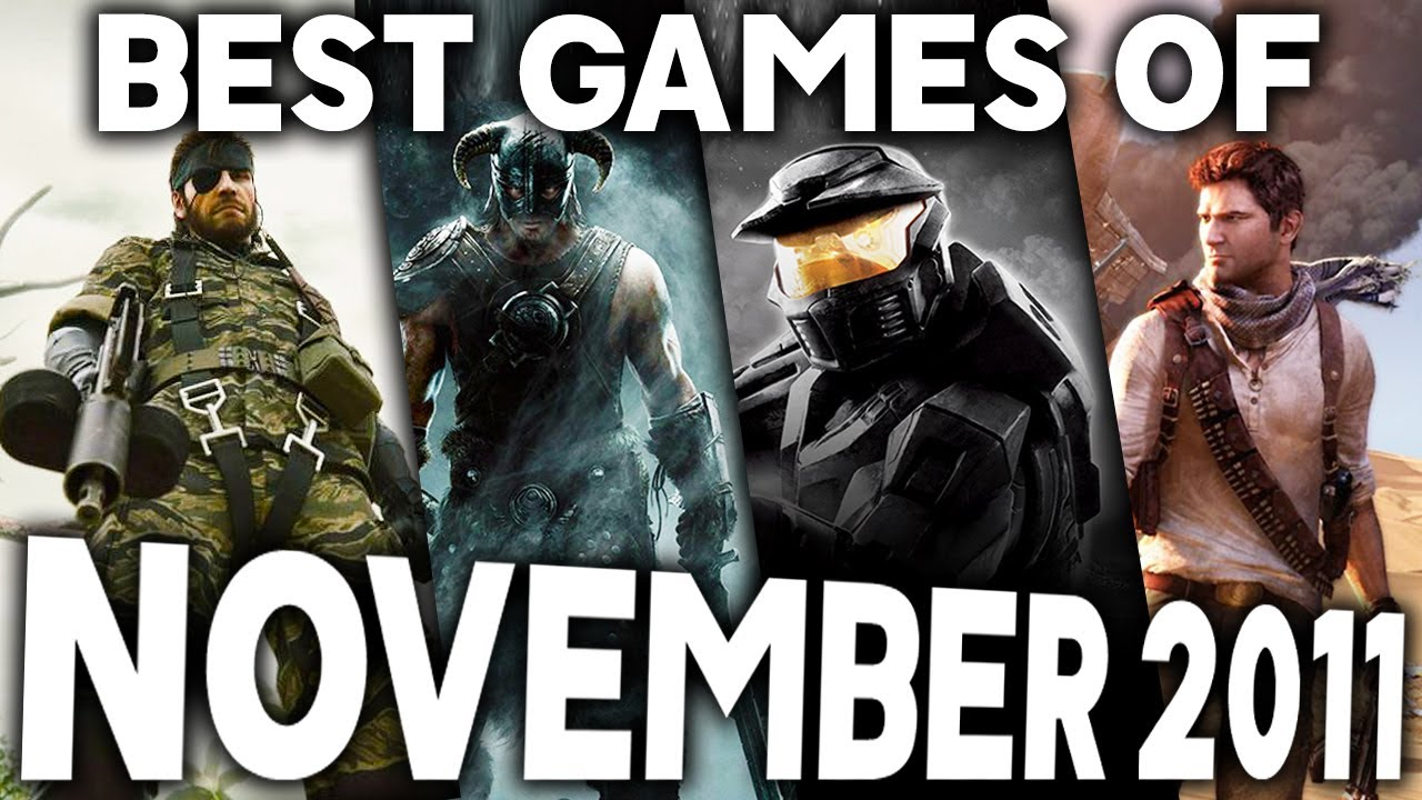 Download The Top 10 BEST Games of November 2011 - An AWESOME Month of Game Releases (Greatest Old Games)