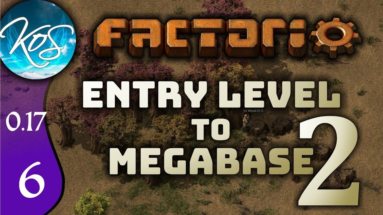 Factorio 0 17 Ep 6: GNASHING OF TEETH - Entry Level to Megabase 2 -  Tutorial Let's Play, Gameplay