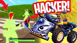 THIS HACKER ONLY MAKES HEADSHOTS!! NEW QUADCRASHER in FORTNITE!