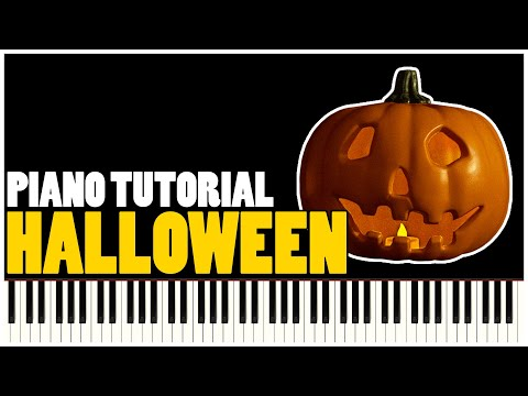 Halloween Theme (Piano Tutorial Synthesia)